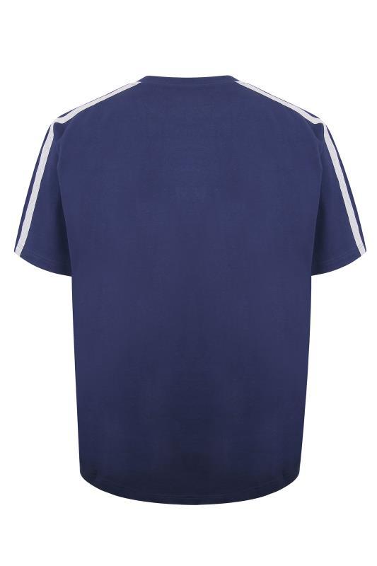 ED BAXTER Navy Lounge T-Shirt_BK.jpg