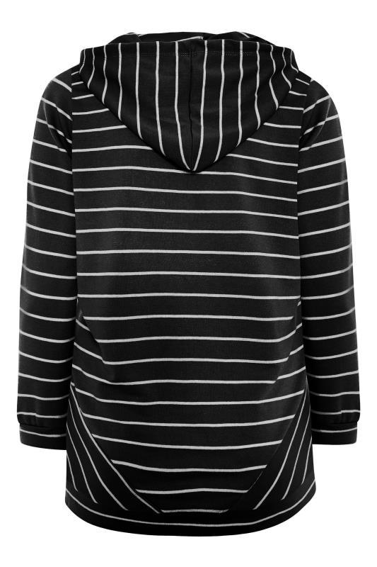 Black Asymmetric Stripe Hoodie_BK.jpg