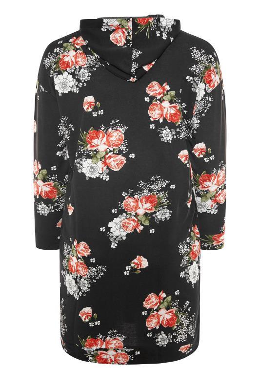 Black Floral Print Hoodie Dress_BK.jpg