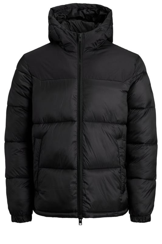 JACK & JONES Black Drew Puffer Coat