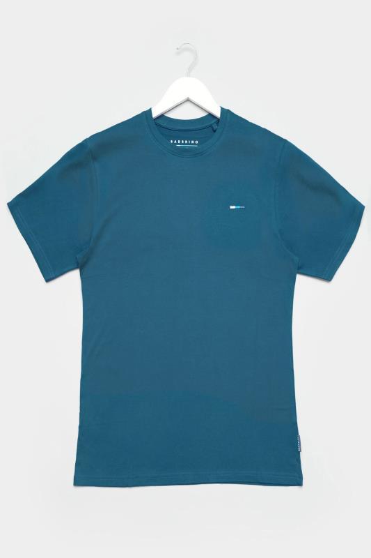 BadRhino Ocean Blue Plain T-Shirt