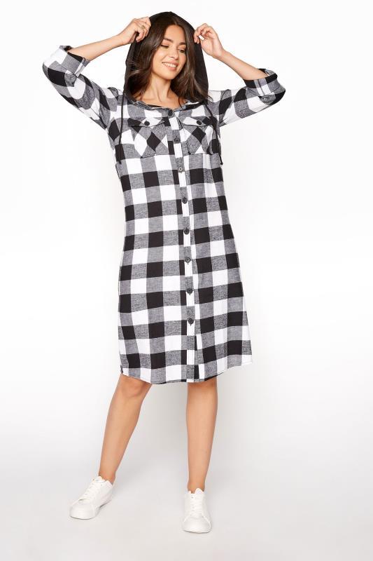 LTS Black Check Longline Hooded Shirt_C.jpg