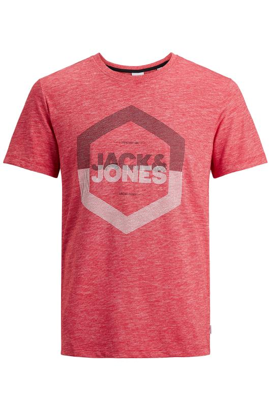 Men's  JACK & JONES Red Delight T-Shirt
