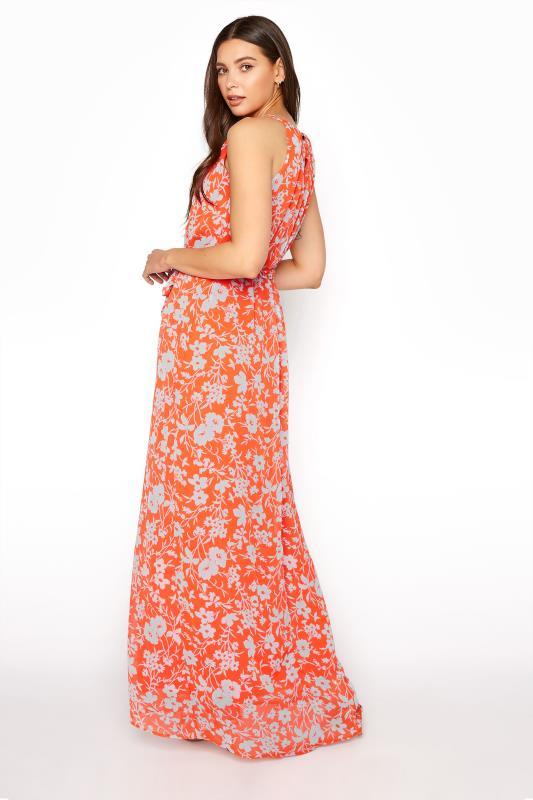 LTS Orange Floral Halter Neck Maxi Dress_C.jpg
