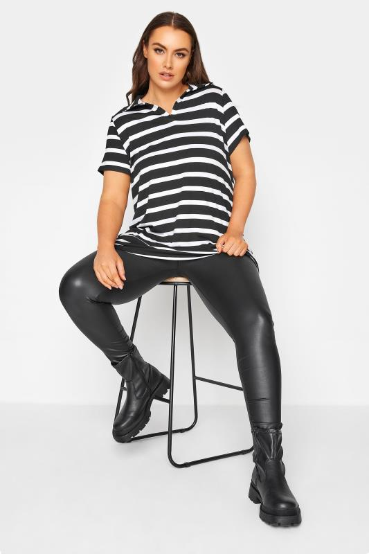 Black Stripe Polo Top_B.jpg