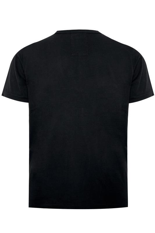 LUKE 1977 Shirt mit Lions-Logo - Schwarz