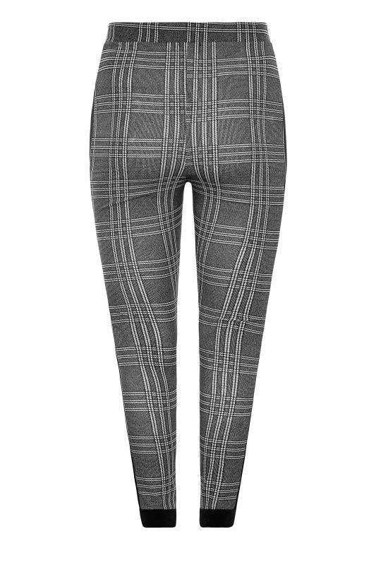 Black and White Side Stripe Scuba Trousers_BK.jpg