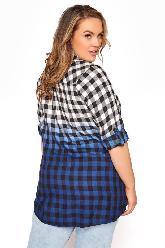 Blue Ombre Check Boyfriend Shirt_C.jpg
