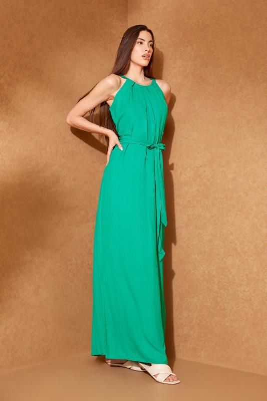 LTS Green Halter Neck Maxi Dress_L.jpg