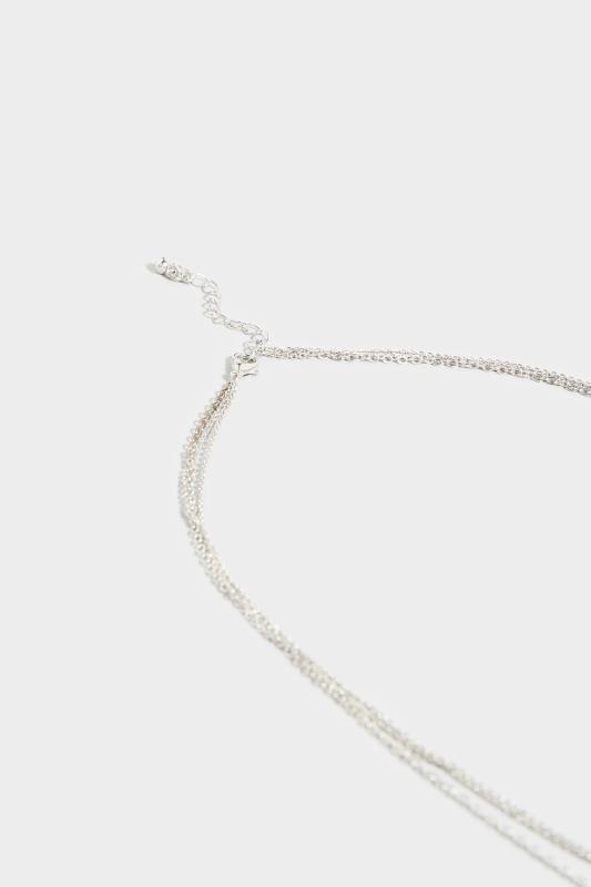 Silver Two Tier Diamante Necklace_B.jpg