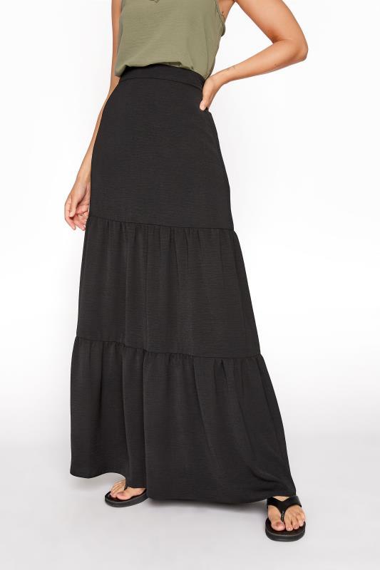 LTS Black Tiered Maxi Skirt_B.jpg