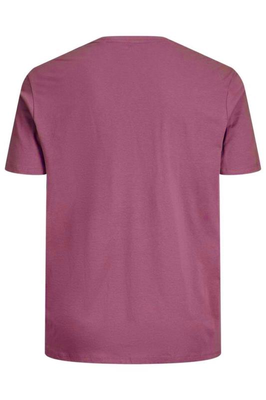 JACK & JONES Red Joshua T-Shirt