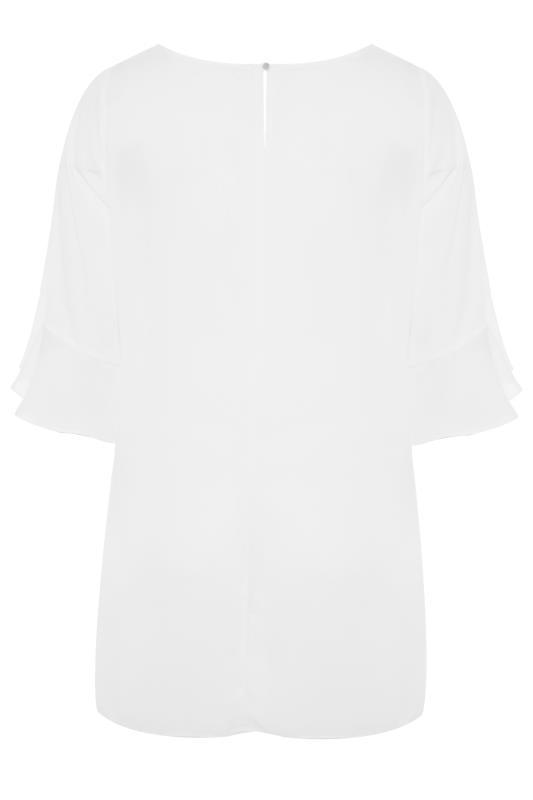 White Flute Sleeve Tunic_bk.jpg