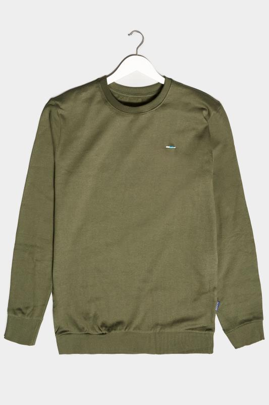 Plus Size  BadRhino Khaki Essential Sweatshirt