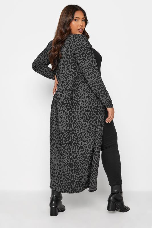 LIMITED COLLECTION Charcoal Black Leopard Print Cardigan_93.jpg