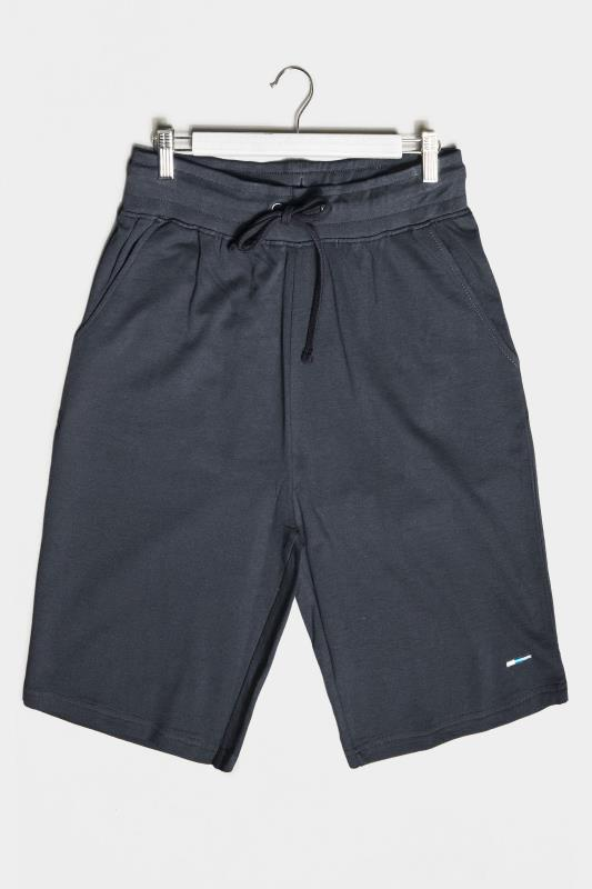 Plus Size Jogger Shorts BadRhino Navy Essential Jogger Shorts