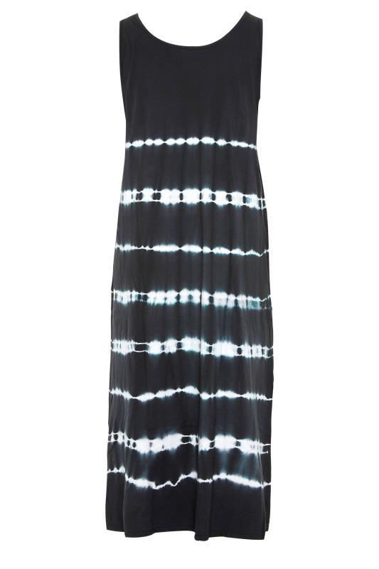 Black Tie Dye Print Maxi Dress_bk.jpg