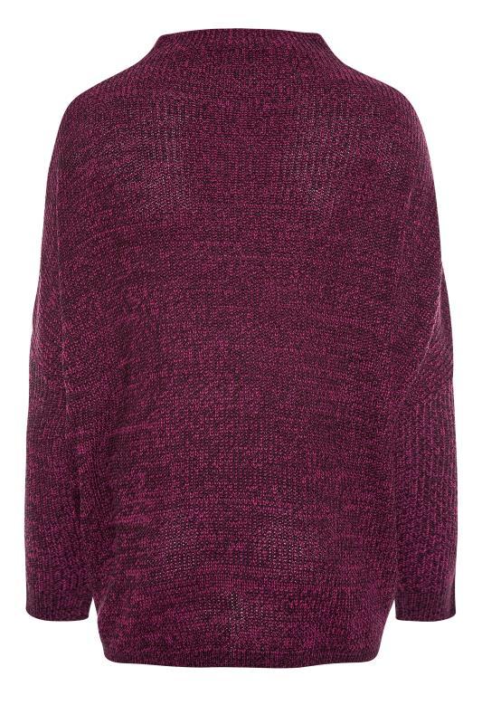 Plum Oversized Knitted Jumper_BK.jpg