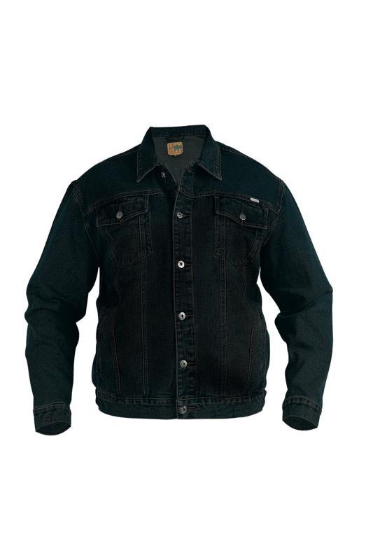 Men's  D555 Black Denim Jacket
