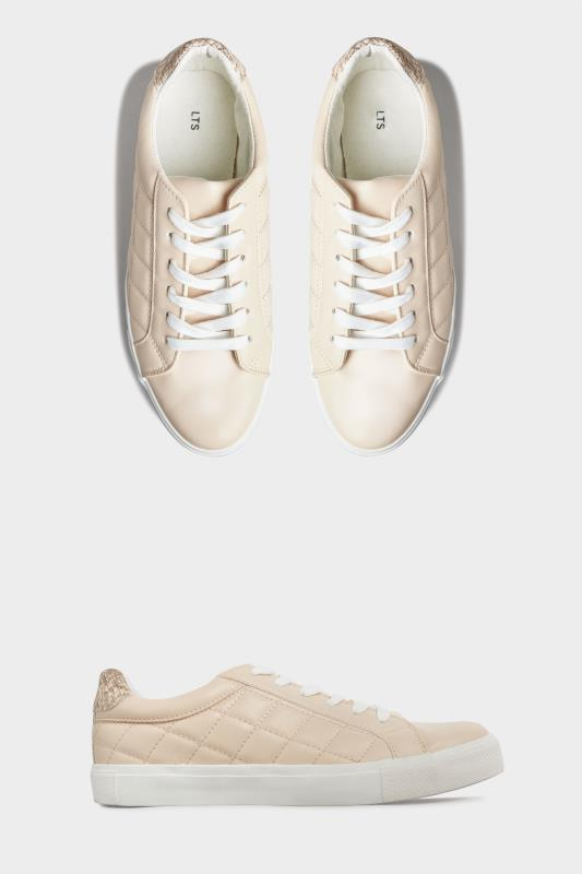 LTS Nude Quilted Trainer