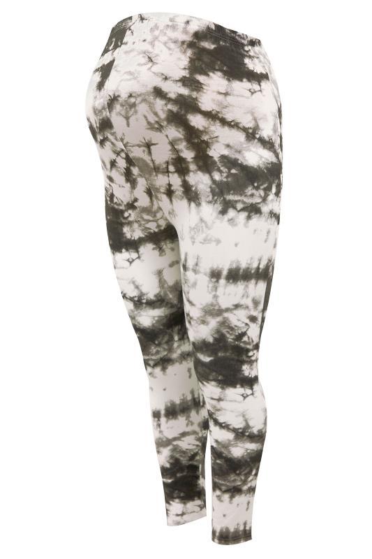 BUMP IT UP MATERNITY Black Tie Dye T-Shirt and Cropped Legging Set_D.jpg