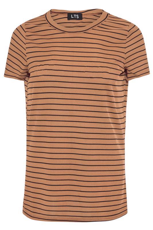 LTS Rust Stripe Rib T-Shirt_F.jpg