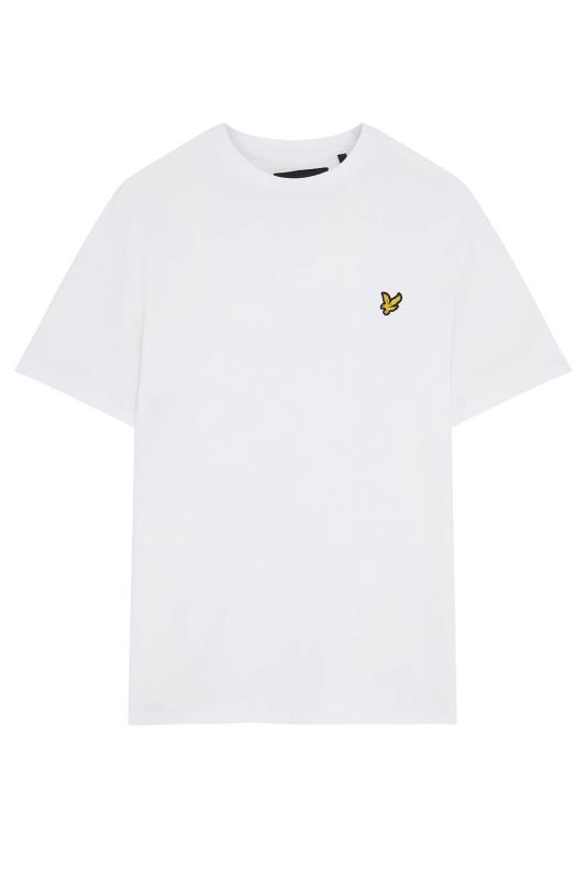 LYLE & SCOTT White Crew Neck T-Shirt_F.jpg