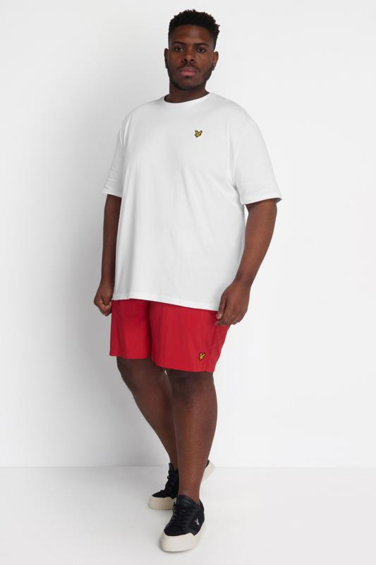 Plus Size  LYLE & SCOTT Red Swim Shorts
