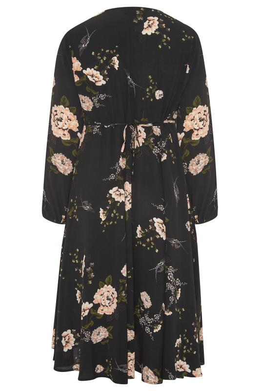 YOURS LONDON Black Floral Print Midi Dress_BK.jpg