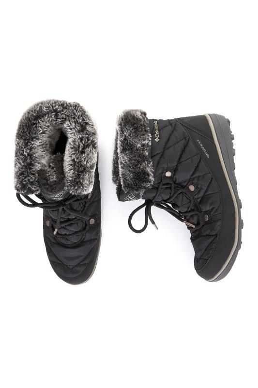 COLUMBIA Black Winter Boots