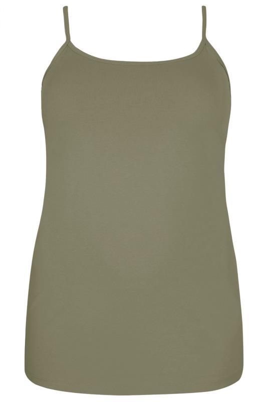 Khaki Cami Vest Top