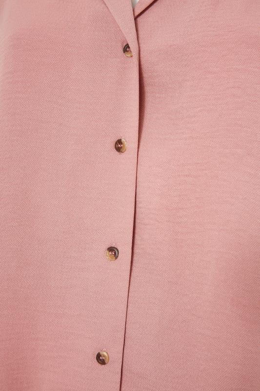 THE LIMITED EDIT Pink Open Collar Blouse_S.jpg