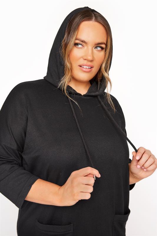 Black Longline Hoodie Dress_E.jpg