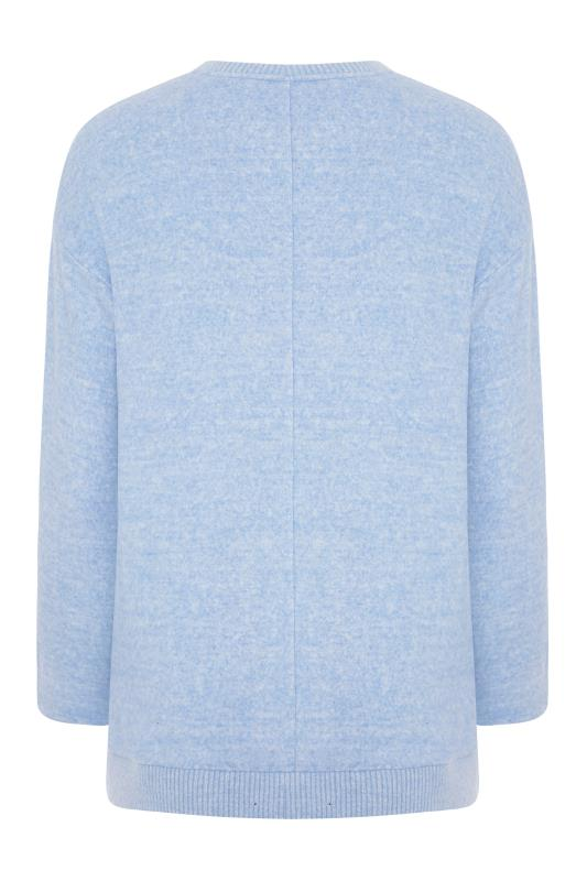 Blue Soft Touch Swing Top