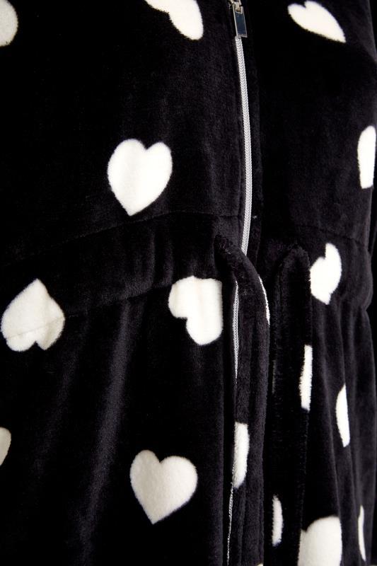 Black Heart Print Zip Dressing Gown_S.jpg