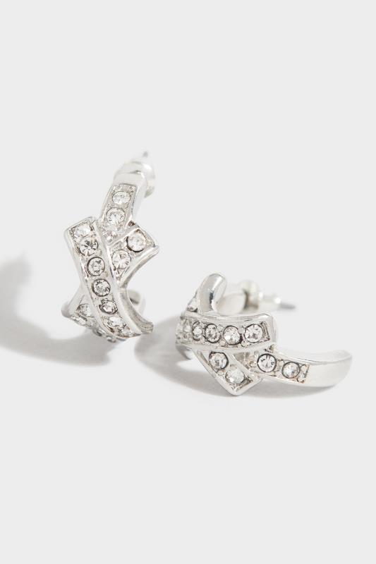 Silver Diamante Kiss Hoop Earrings_D.jpg