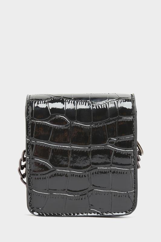 Black Croc Chain Mini Cross Body Bag_B.jpg