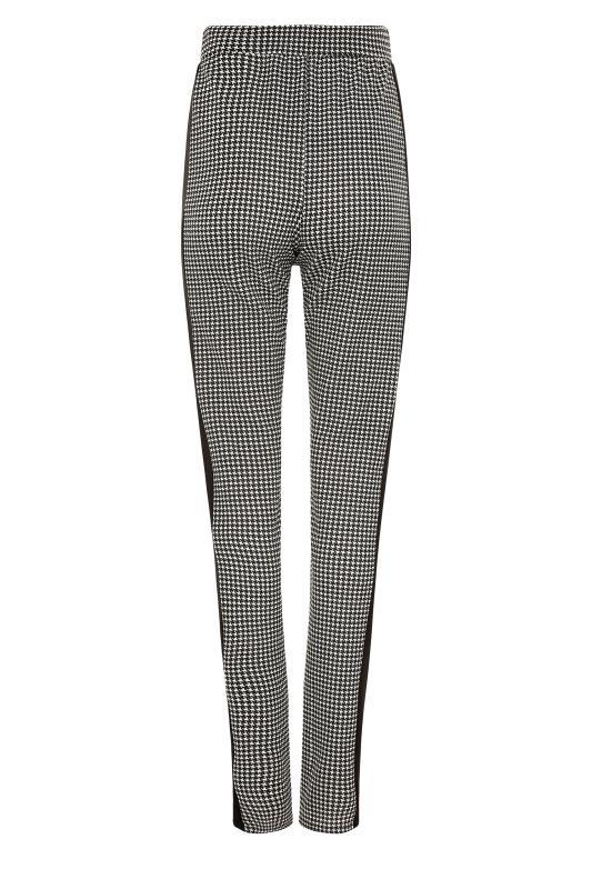 Black Dogtooth Slim Leg Trousers_BK.jpg