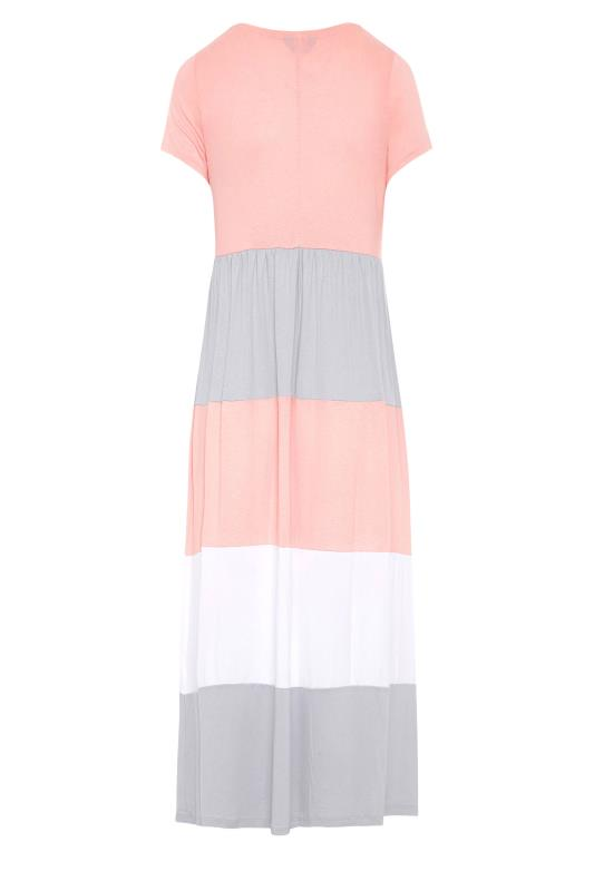 LTS Pink Colour Block Dress_BK.jpg