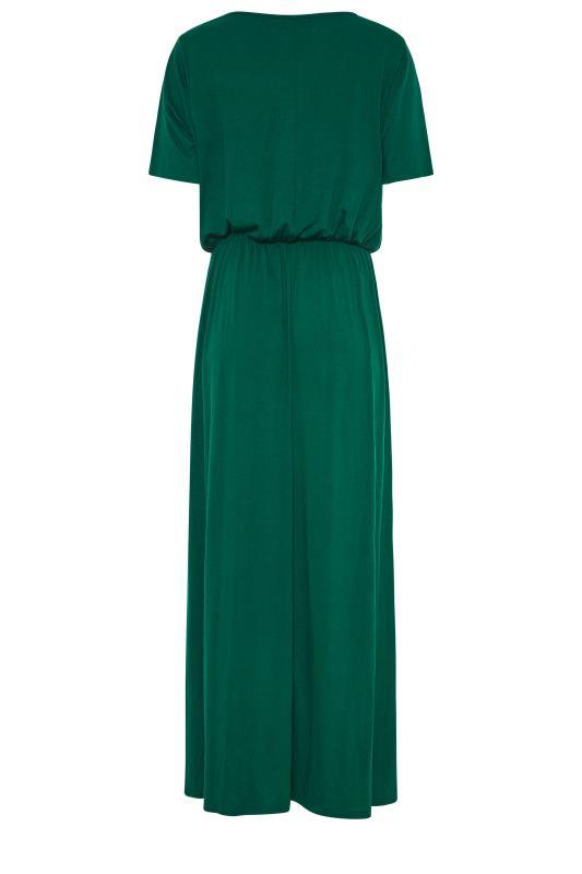 LTS Forest Green Pocket Midaxi Dress_BK.jpg