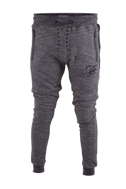 Plus Size Joggers D555 Couture Grey Marl Joggers