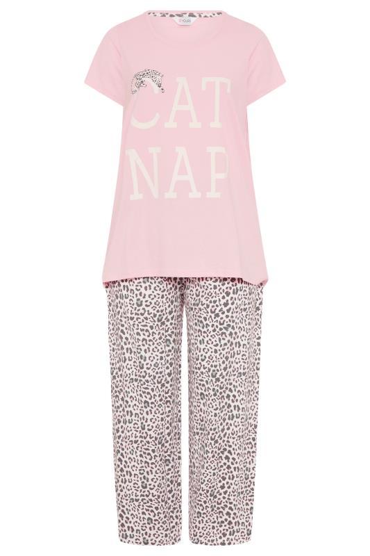 Pink 'Cat Nap' Pyjama Set_F.jpg