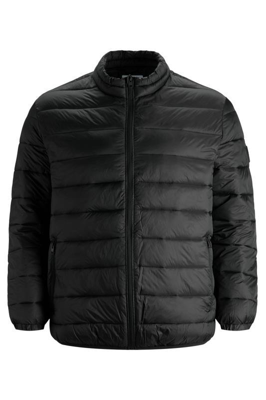 JACK & JONES Black Magic Puffer Coat