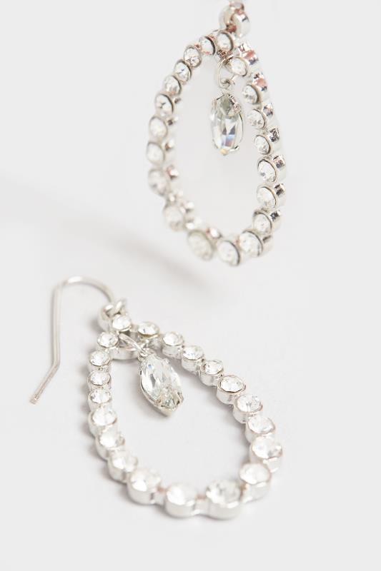 Silver Diamante Teardrop Earrings_D.jpg