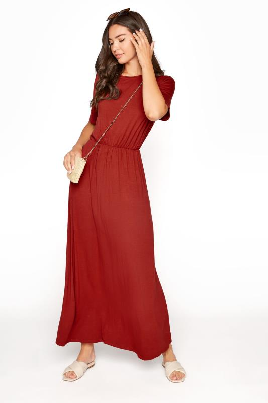 LTS Burgundy Pocket Midaxi Dress_B.jpg