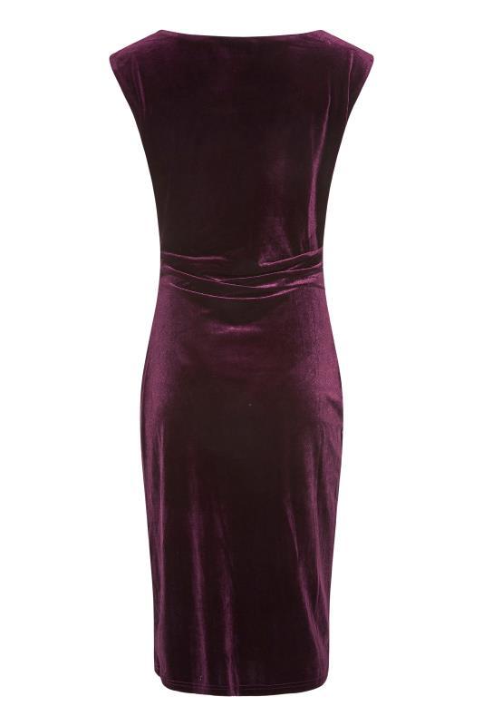 LTS Purple Cowl Neck Velvet Dress_BK.jpg