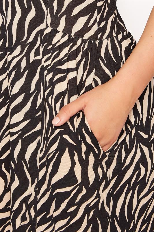 LTS Black Zebra Print Maxi Dress_D.jpg