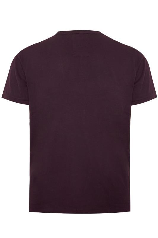 LUKE 1977 Burgundy Traff Core T-Shirt