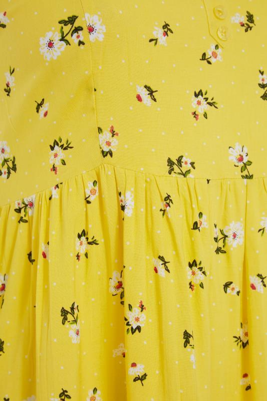 Yellow Floral Strappy Dress_S.jpg