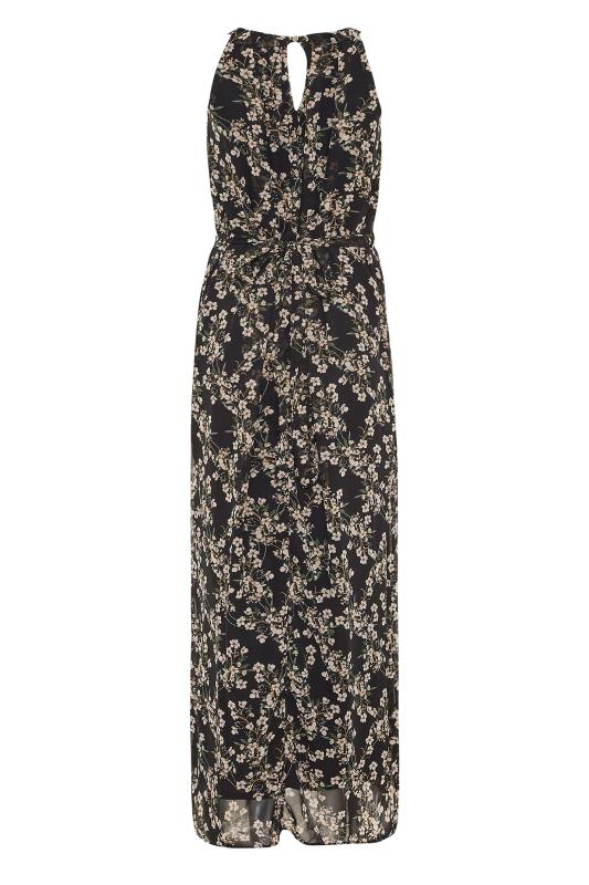 LTS Black Floral Halter Neck Maxi Dress_BK.jpg